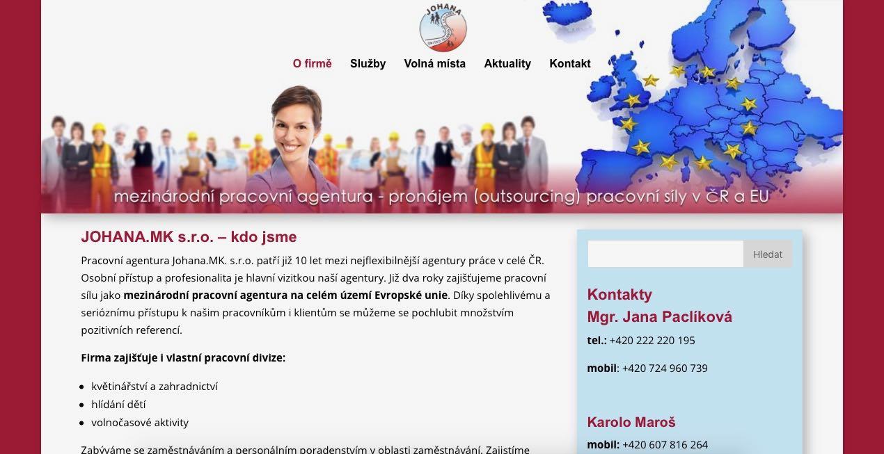 www.johanam.cz