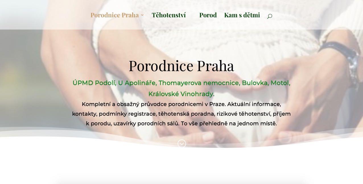 www.porodnicepraha.cz