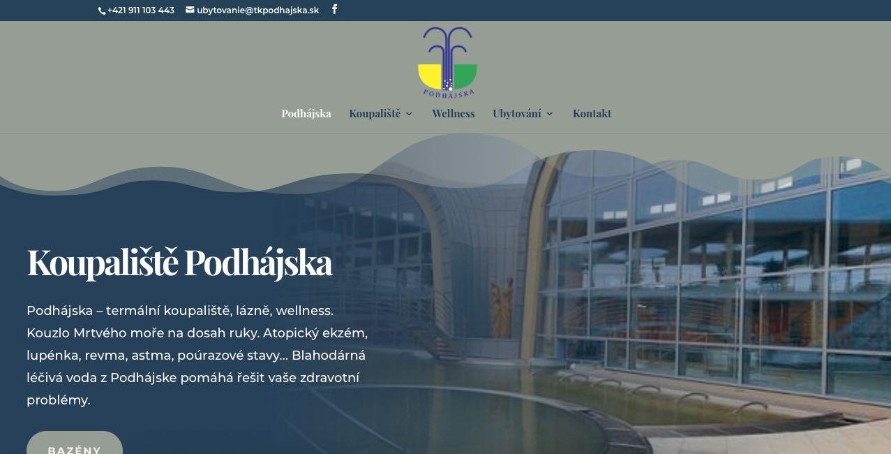 www.podhajskalazne.cz